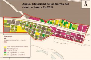 Plano Ciudad Añelo